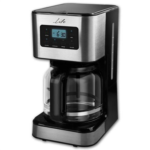 Life Προγραμματιζόμενη καφετιέρα φίλτρου 1.5L, 950W, CM-200