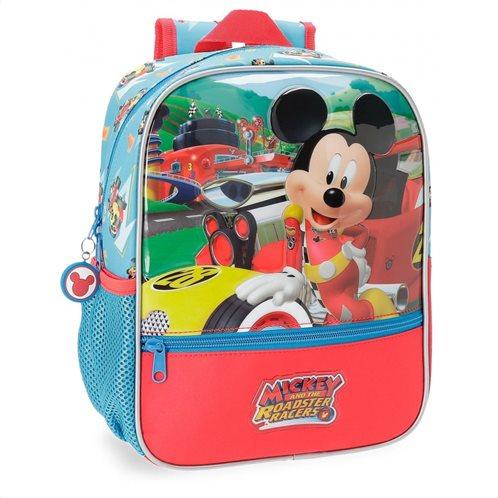 Disney σειρα σακίδιο πλάτης 23x28x10cm Mickey Roadster Racers