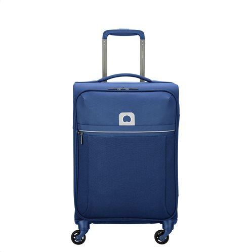 Delsey Βαλίτσα trolley καμπίνας 55x35x25cm σειρά Brochant Blue