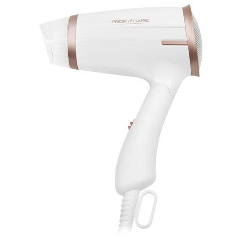 PROFI CARE Σεσουάρ μαλλιών 1400W, με αναδιπλούμενη λαβή, PC-HT 3009 WHITE