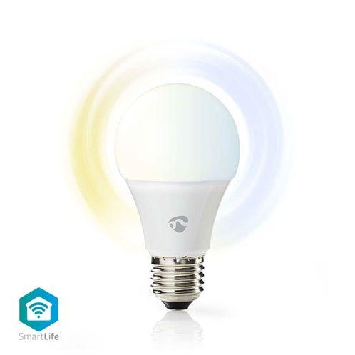 NEDIS Wi-Fi έξυπνη λάμπα LED, E27, A60, 9W, 800lm, WIFILW10WTE27
