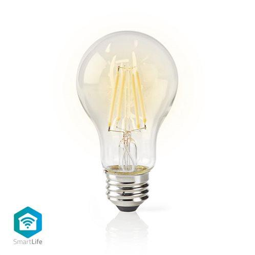 NEDIS Wi-Fi έξυπνη λάμπα Filament LED, E27, A60, 5W, 500lm, WIFILF10WTA60