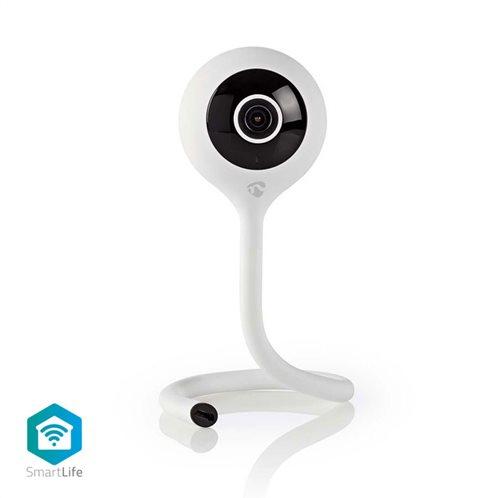 NEDIS WiFi Smart IP camera HD 720p, με αισθητήρα θερμοκρασίας & υγρασίας, WIFICI10CWT