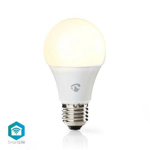 NEDIS Wi-Fi έξυπνη λάμπα LED, E27, A60, 9W, Warm White, 800lm, WIFILW11WTE27