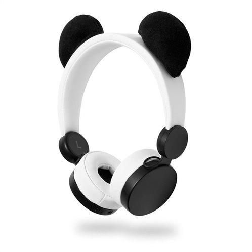 NEDIS On-ear ενσύρματα ακουστικά NEDIS Animaticks Patty Panda, HPWD4000WT