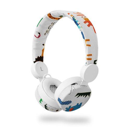 NEDIS On-ear ενσύρματα ακουστικά NEDIS N-imal Elephant White, HPWD4104WT