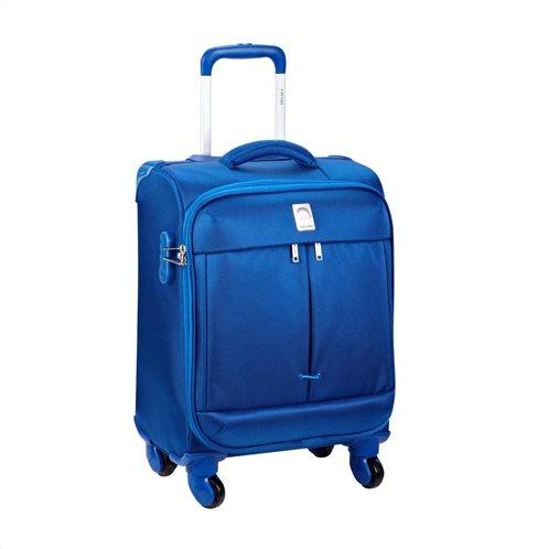 Delsey Βαλίτσα Καμπίνας Τροχήλατη Σειρά Flight 55cm Light Blue