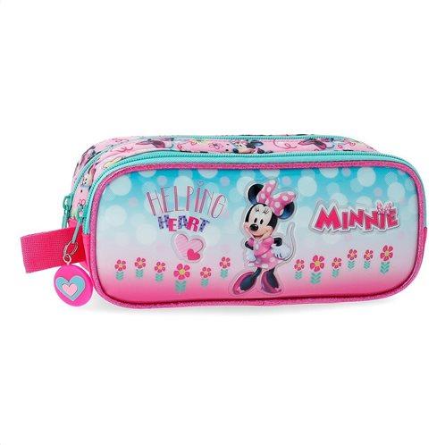Disney Minnie κασετίνα 2 θέσεων 23x9x7cm Minnie Heart