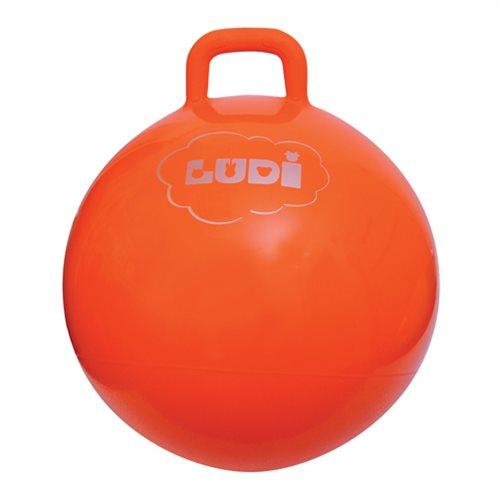 Ludi μπαλα γυμναστικης χοπ-χοπ 55 cm πορτοκαλι