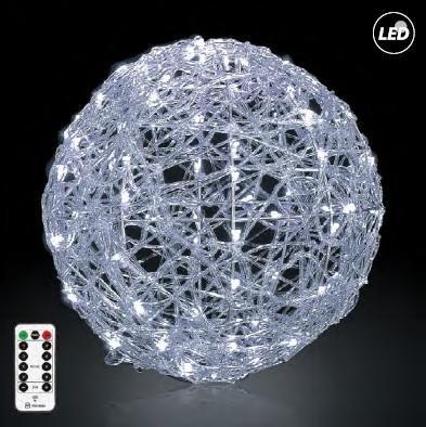 joylight LED μπαλα Φ50 λευκο