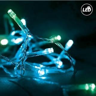 joylight LED κουρτινα 3μΧ3μ green*flash 27-00298