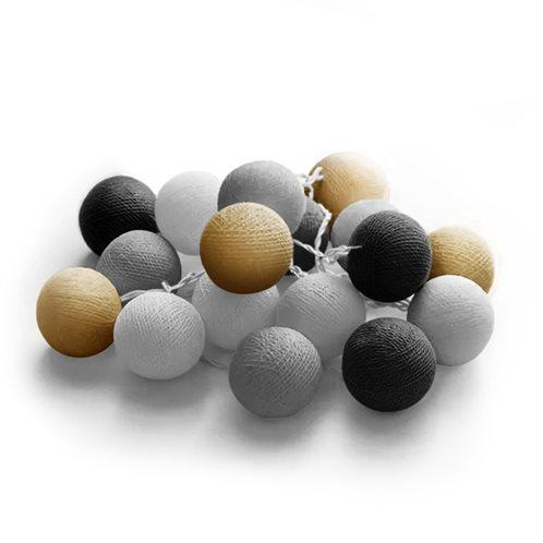 joylight 20l cottonballs candy 4,5v
