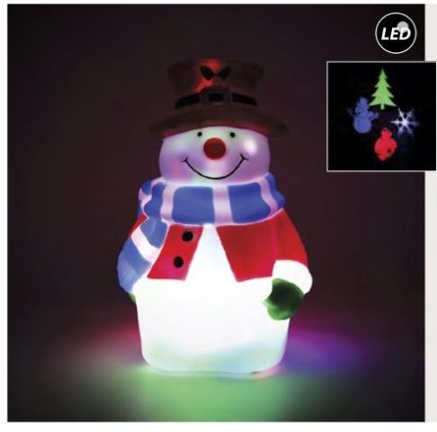 Joylight προτζεκτορας Χιονάνθρωπος
