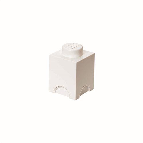 LEGO® lego storage brick 1 white