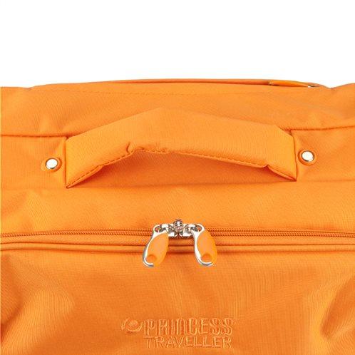 5c78c1d6db Princess Βαλίτσα foldable 51x35x20cm Palermo Orange image 4