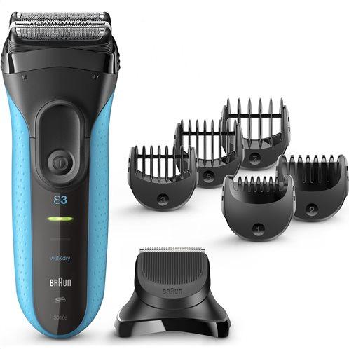 Braun Ξυριστική Μηχανή Wet & Dry & Σετ Περιποίησης Γενειάδας 3010BT