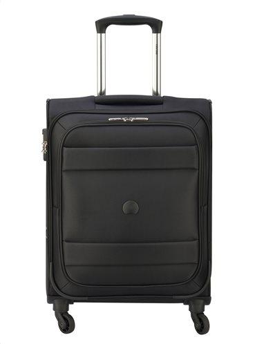 Delsey Βαλίτσα καμπίνας 55x40x20 cm σειρά Indiscrete Soft Black