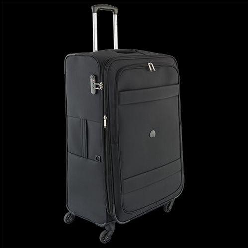 Delsey Βαλίτσα μεγάλο μέγεθος 78x48x32-36 cm σειρά Indiscrete Soft Black