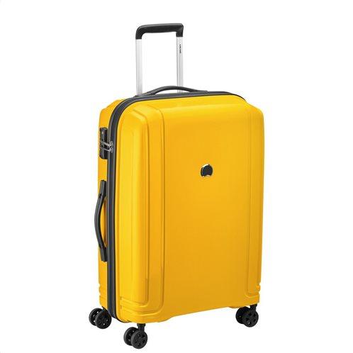 Delsey Βαλίτσα trolley μεσαίο μέγεθος 66x45x26.5cm Brisban Yellow