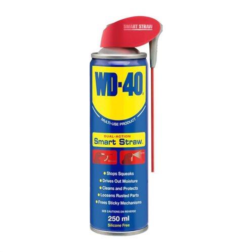 WD-40 SMART STRAW Λιπαντικό Αντισκωριακό Σπρέι 250ml