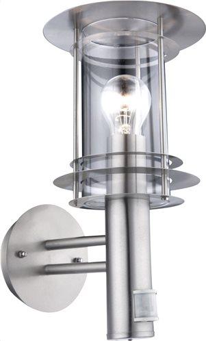 Globo Lighting Φωτιστικά εξωτερικού χώρου MIAMI μονόφωτο ασημί  1xE27