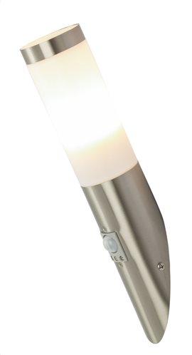 Globo Lighting Φωτιστικά εξωτερικού χώρου BOSTON LED μονόφωτο ασημί  1xE27 LED