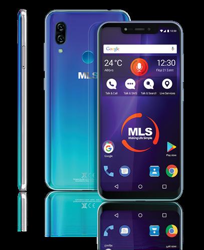 MLS MX Notch 4G Space Blue DS