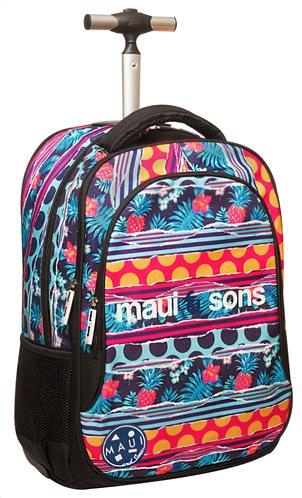 Maui & Sons Σχολική Τσάντα Τρόλεϋ Δημοτικού Polka Back Me Up