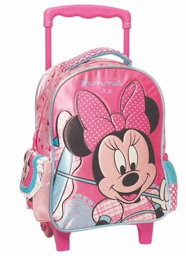 Minnie Mouse Umbrella Τσάντα Τρόλεϋ Νηπιαγωγίου GIM