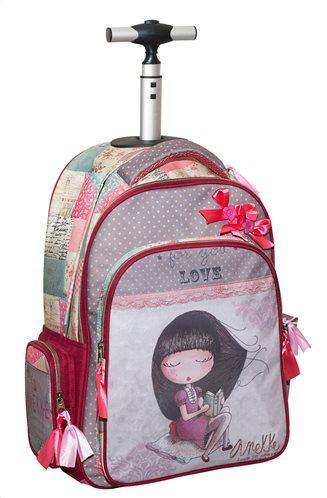 Anekke Σχολική Τσάντα Τρόλεϋ Δημοτικού Sweet GIM