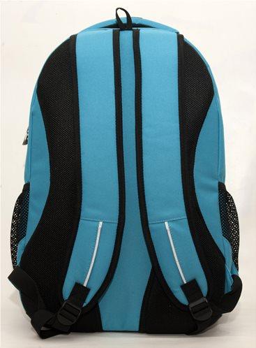 726e2688f9 No fear Σχολική Τσάντα Πλάτης Γυμνασίου-Λυκείου Classy Light Blue Oval GIM  image 2