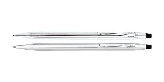 Cross Στυλό και Μολύβι Classic Century Lustrous Chrome set