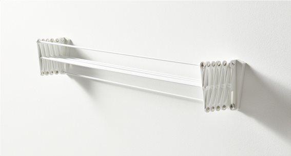 Artweger Απλώστρα Τοίχου Πτυσσόμενη Λευκή Smart 100cm 363WH