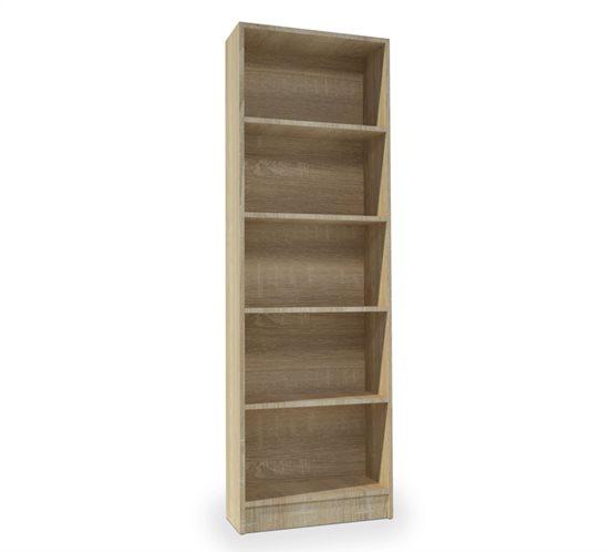 Βιβλιοθήκη Adorno 59x22x183Cm Sonoma