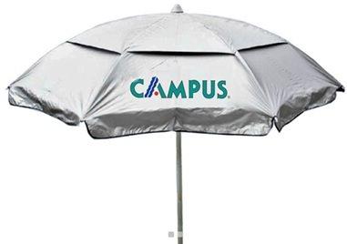 Campus Ομπρέλα Θαλάσσης Μεταλλική 2m, Πορτοκαλί