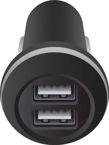 Crystal Audio Dual USB Mini Φορτιστής Αυτοκινήτου C2-3.4