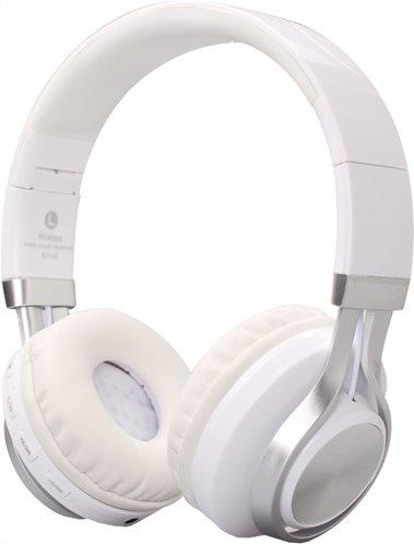 Crystal Audio Ακουστικά Στέκα Bluetooth BT-01-WH White/Silver