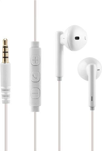 CRYSTAL AUDIO IN EAR Ακουστικά IE-02-W WHITE