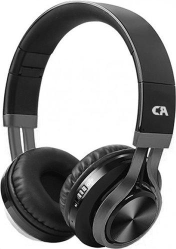 Crystal Audio Bluetooth Ακουστικά Κεφαλής BT-01 Gunmetal