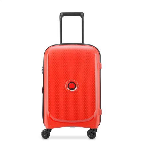 Delsey Βαλίτσα καμπίνας slim 55x40x20cm Belmont Expandable Faded Red