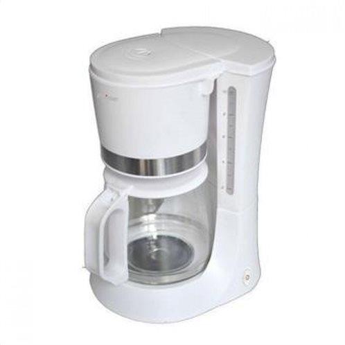 PRIMO Καφετιέρα Eco 1.2L CM6633E  Λευκή/Inox