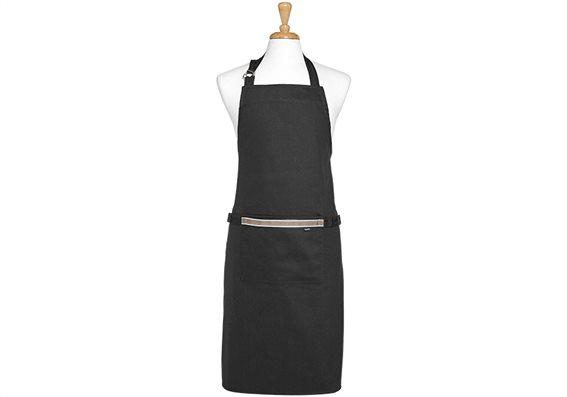 Ladelle Ποδιά Κουζίνας Βαμβακερή Μαύρη Professional Serie