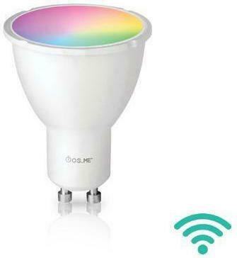 ΦΟS_ME LED ΛΑΜΠΑ WIFI GU10 5W 300L RGB 44-05860