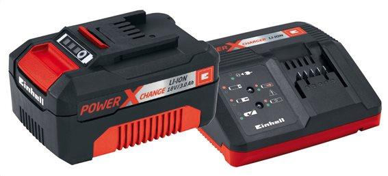 EINHELL Σετ ταχυφορτιστής PXC (60 λεπτών) και μπαταρία 18 V 3,0 Αh PXC