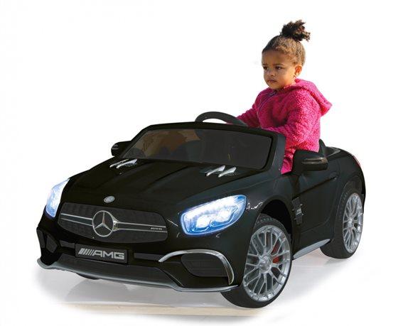 JAMARA Τηλεκατευθυνόμενο Ride on Αυτοκίνητο Mercedes SL65 1:4 μαύρο