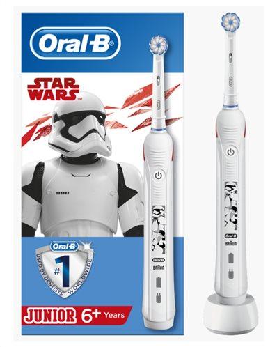 Oral-B Junior Ηλεκτρική Οδοντόβουρτσα Star Wars 6+