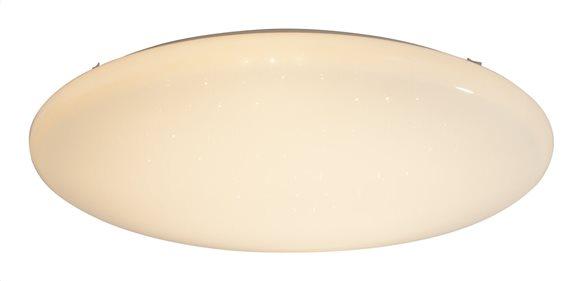 Globo Lighting Πλαφονιέρες RENA μονόφωτο λευκό  1xLED