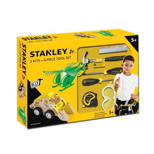 Stanley Jr 2 Ξυλοκατασκευές & Σετ Εργαλείων 6τμχ 51563