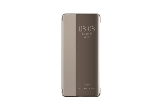 Huawei P30 Pro Smart View Flip Cover Khaki