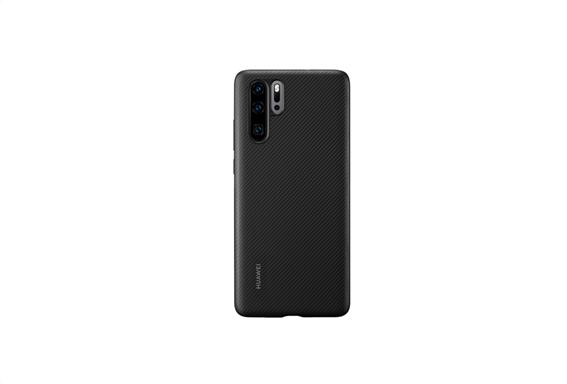 Huawei P30 Pro PU Case Black